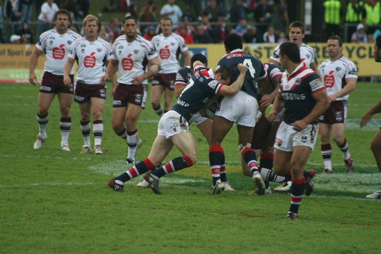 Manly Sea Eagles vs Roosters in 2008 | © Privatemusings / WikiCommons