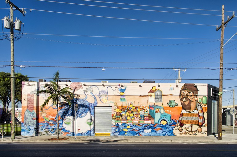 Mural by the Brazilian duo Os Gemeos | Dan Lundberg/Flickr