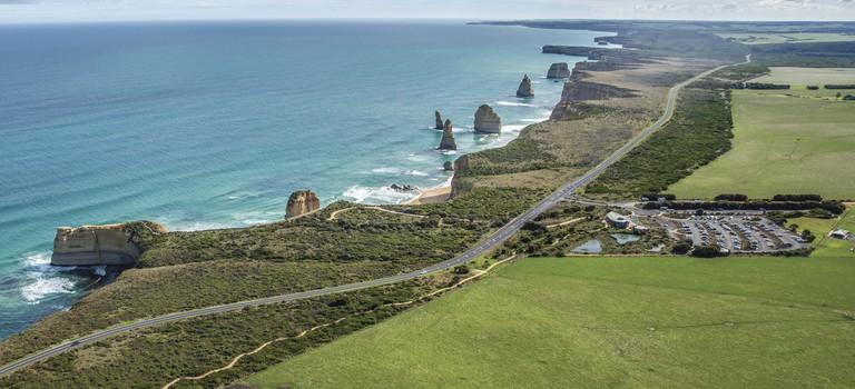 Twelve Apostles, Great Ocean Road, VIC | Courtesy of Tourism Australia © Greg Snell