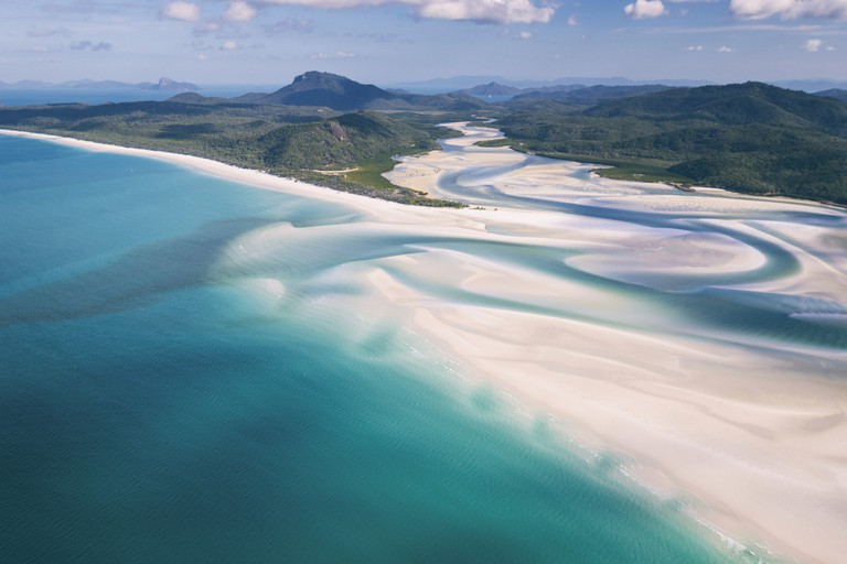 Whitehaven Beach, Whitsundays Islands, QLD | Courtesy of Tourism Whitsundays © Matt Glastonbury