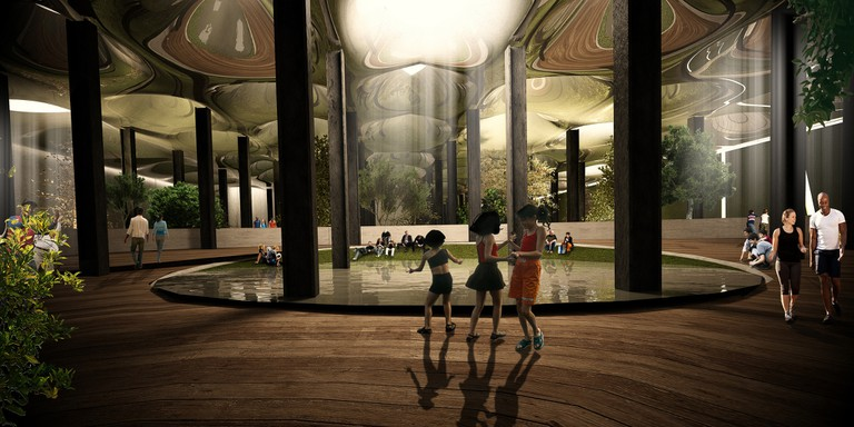 A Rendering Of The Lowline | © The Lowline
