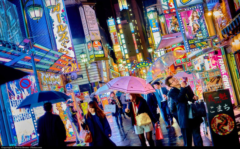 A view of Kabukicho, Japan's largest red light and entertainment district where Emiri worked | © Moyann Bren/Flickr