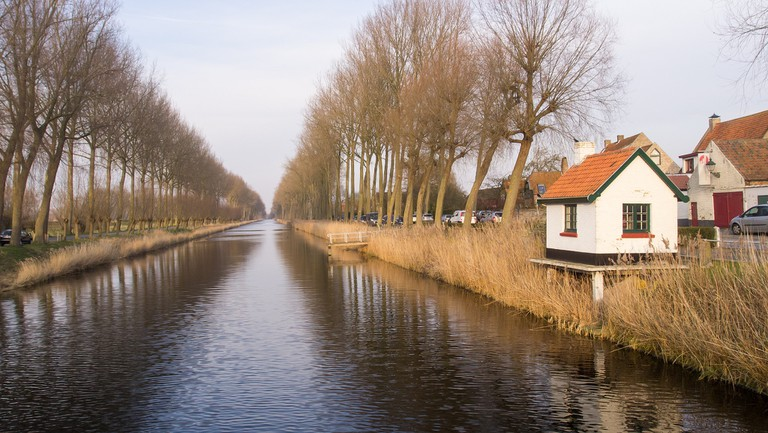 The scenic sight of the Damse Vaart   © Ed Webster/Flickr