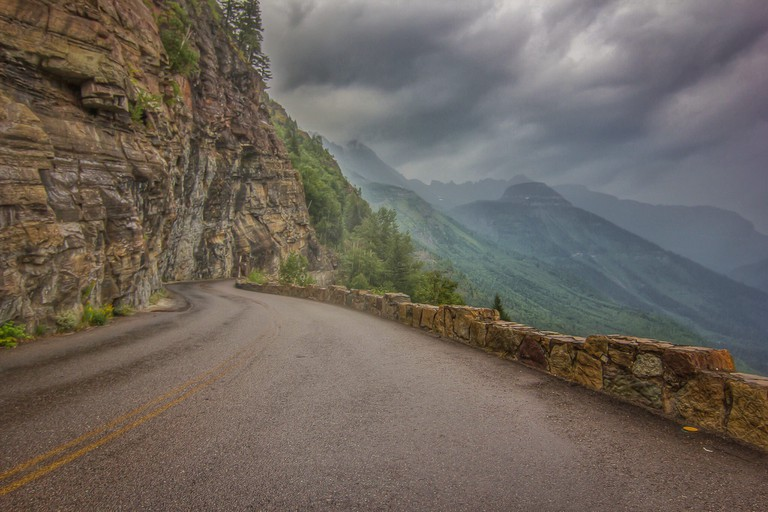 Going to the Sun Road | © Trevor Bexon/Flickr