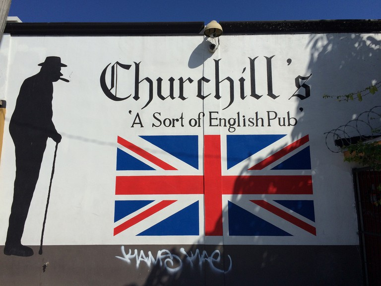 Churchill's pub is a popular hangout for the residents of Little Haiti | Phillip Pessar/Flickr