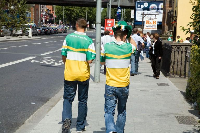 Gaelic football supporters | © William Murphy/Flickr