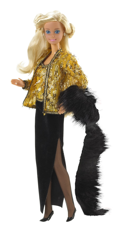 1985 Oscar de la renta barbie photo Jeff O'Brien stylist Beverly Elam