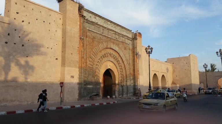 Bab Agnaoua in Marrakech Copyright Mandy Sinclair