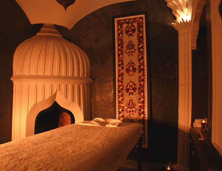Heritage Spa is located in the Bab Doukkala area of the Marrakech medina