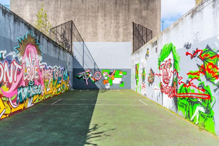 A handball alley at Green Street, Dublin | ©William Murphy/Flickr