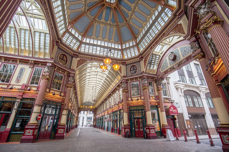 Leadenhall Market|©Laurie Nevay/Flickr