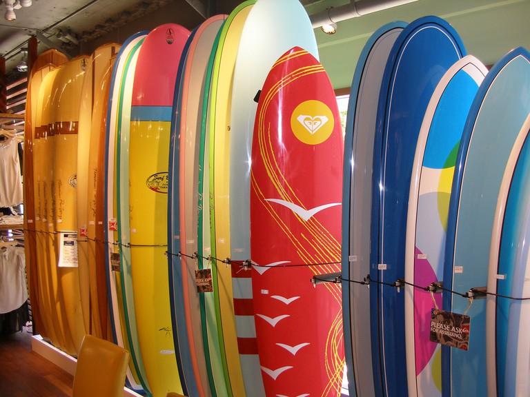 Quicksilver boards sold at City Beach | © Jason Helle / Flickr