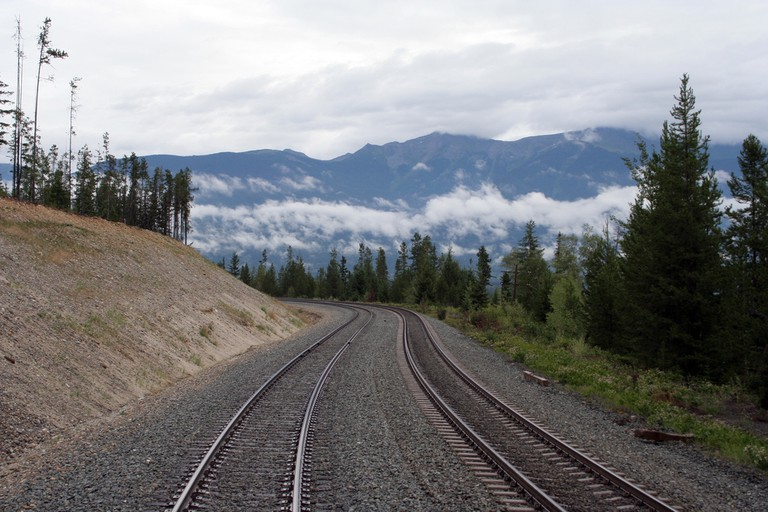 Climbing into the Rockies from Jasper on the Rocky Mountaineer | Tony Hisgett/Flickr