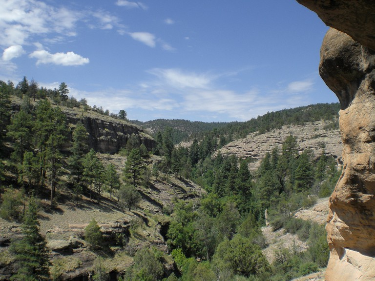 View from the Gila Cliff Dwellings   © Benton Greene/Flickr