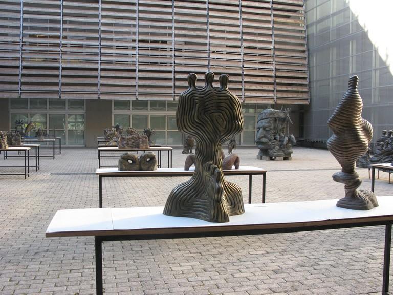 Works by Yiorgos Lambrou exposed at the new Benaki Museum|© Tilemahos Efthimiadis/Flickr