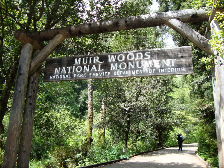 Muir Woods Entrance © Stephanie/Flickr