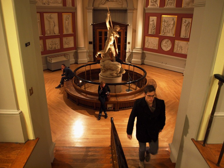 The Flaxman Gallery, UCL Main Library| ©SomeDriftwood/Flickr
