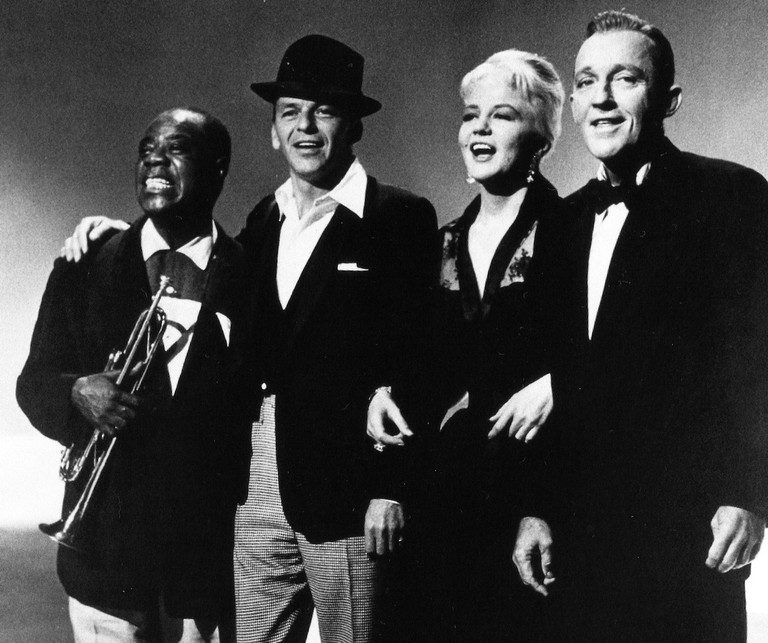 Louis Armstrong, Bing Crosby, Peggy Lee and Frank Sinatra | © kate gabrielle/Flickr