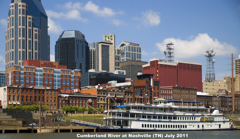 © Cumberland River at Nashville (TN) July 2011, Ron Cogswell/Flickr