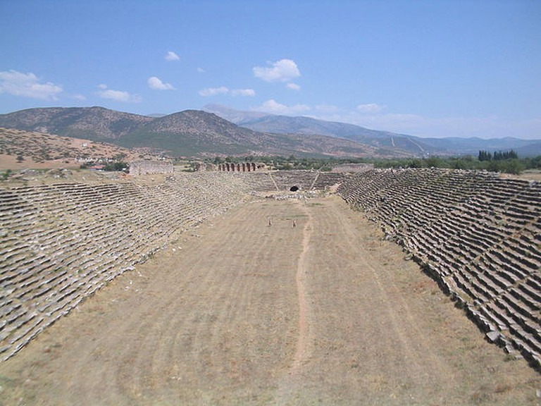 Roman hippodrome in the ancient city of Aphrodisias, Turkey |© Dpalma01/WikiCommons
