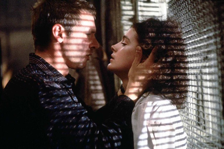 Harrison Ford and Sean Young in Blade Runner © Warner Bros