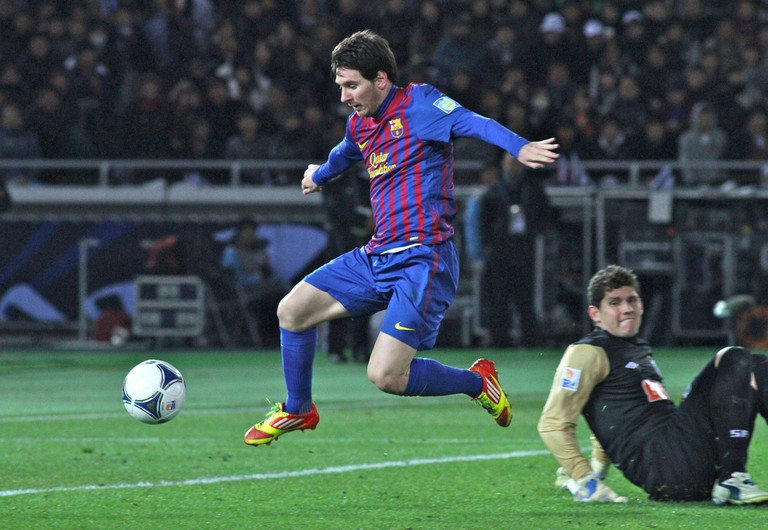 Lionel Messi, one of Barça's best players | © Christopher Johnson