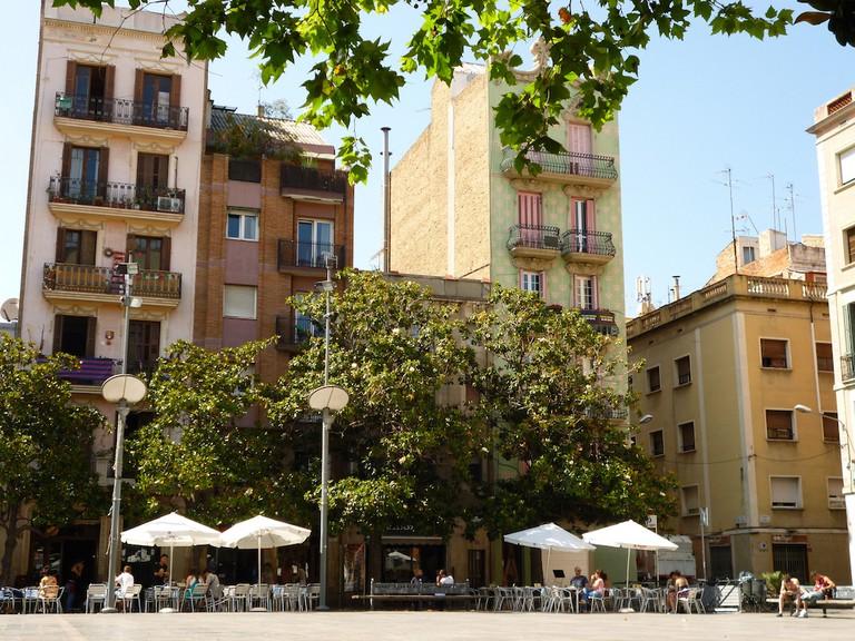 Plaça del Sol in Gràcia | © Oh-Barcelona.com / Flickr