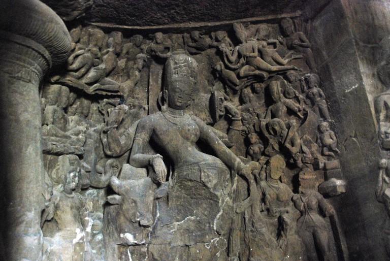 Elephanta caves | ©Baishampayan Ghose /Flickr