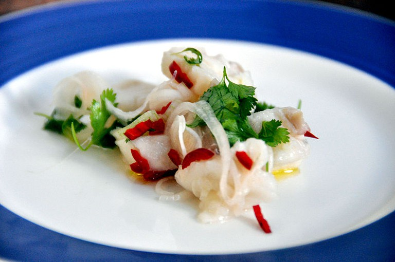 Peruvian style ceviche is found all across Miami and its neighboring communities