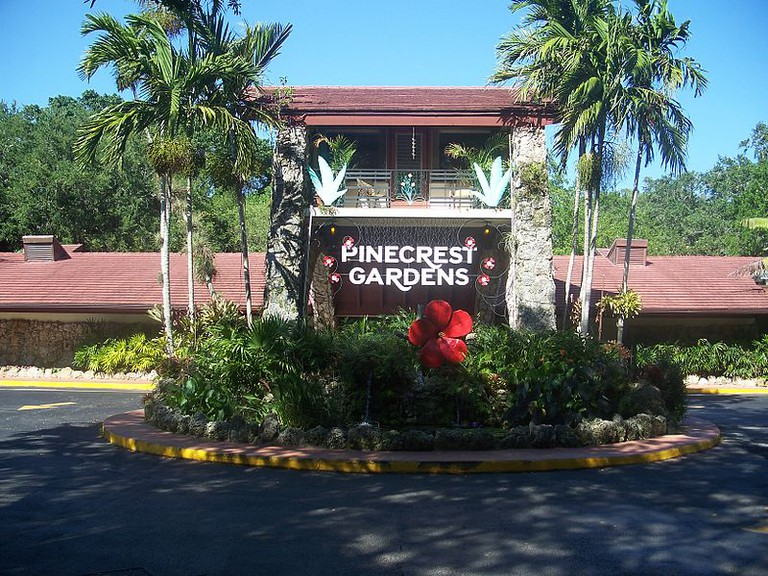 The New Entrance to the Pinecrest Botanic Gardens |Ebyabe/Wikipedia Commons