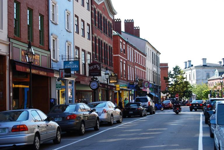 Downtown Portsmouth| ©Harvey Barrison/Flickr