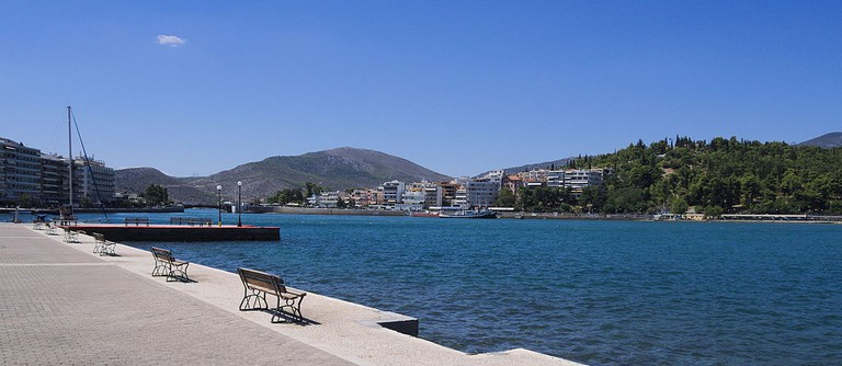 The promenade of Chalkida and Evripos strait | © C Messier/WikiCommons