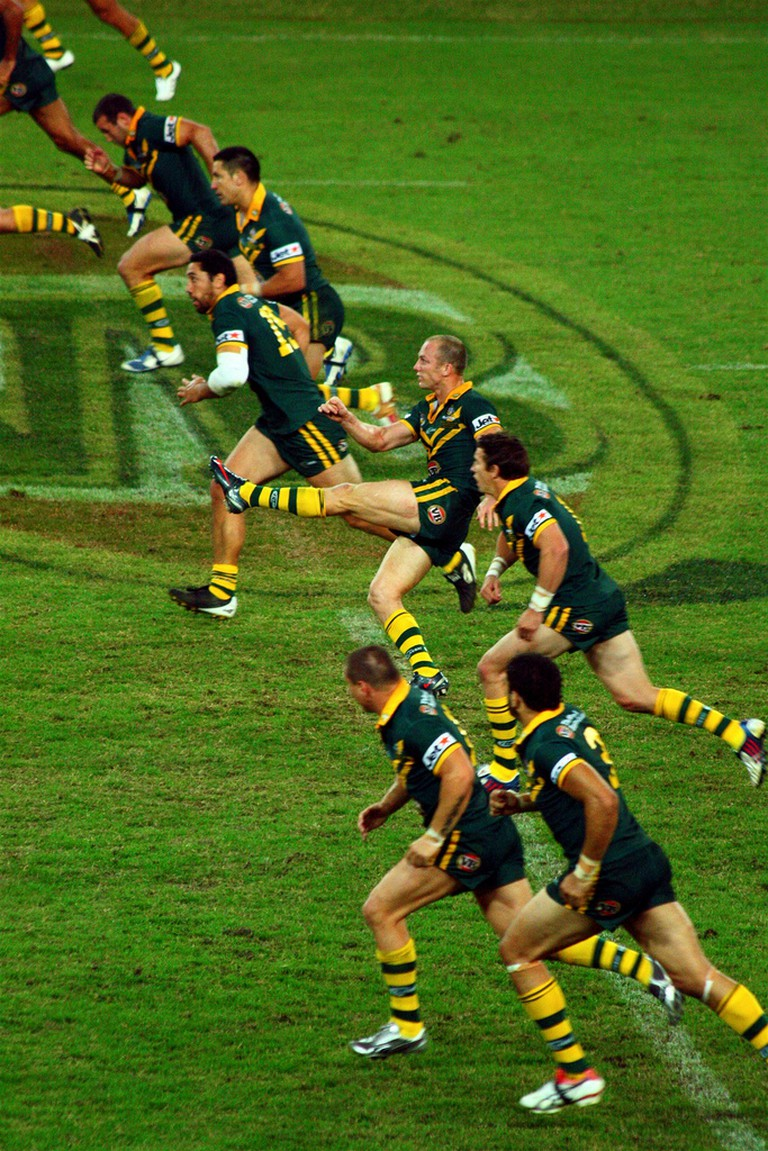 Australian National Rugby League team 2009 | © Andrew Tallon / WikiCommons