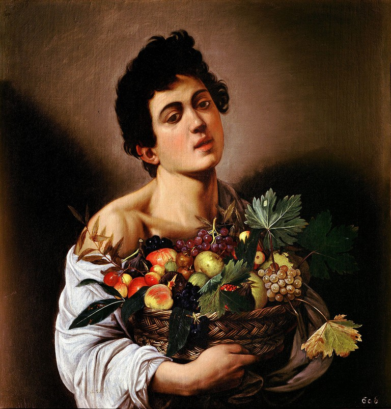 Boy with a Basket of Fruit by Caravaggio   © WikiCommons