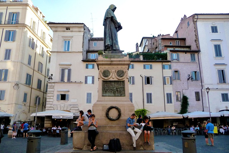 Statue of Giordano Bruno | © Flickr/Herb Neufeld