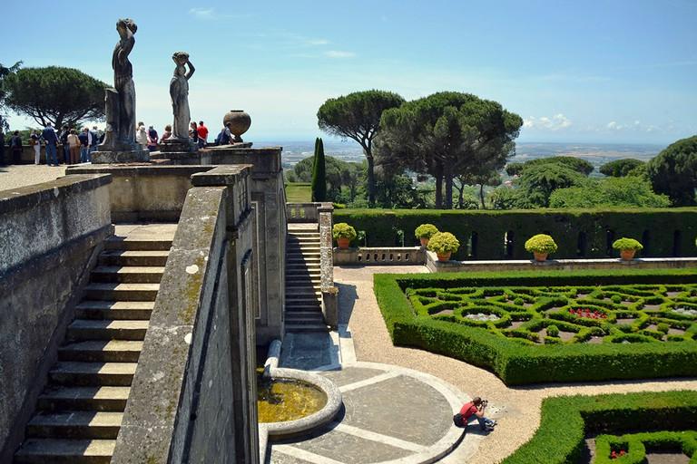 Barberini Gardens in Castel Gandolfo | © Livia Hengel