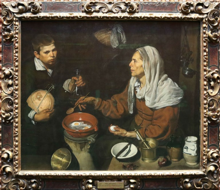 Diego Velázquez, An Old Woman Cooking Eggs, 1618 | Courtesy Of Tori Chalmers