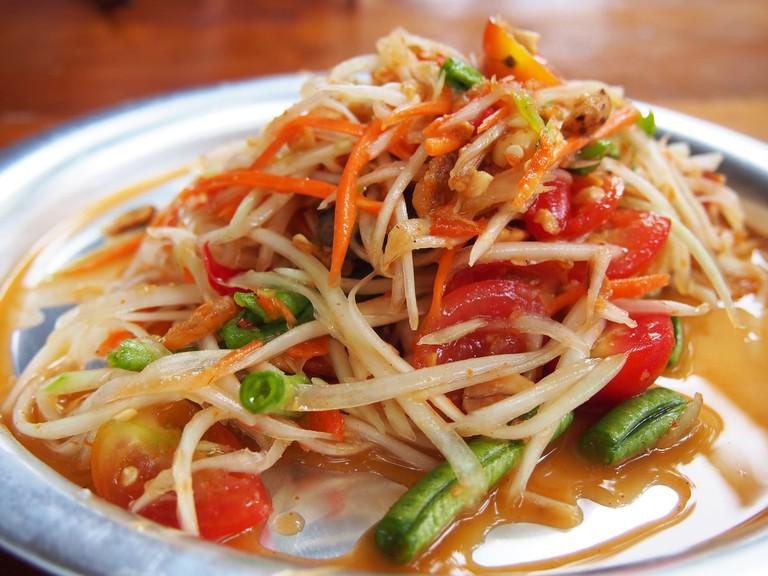 Som Tam (Papaya Salad) | ©pxhere