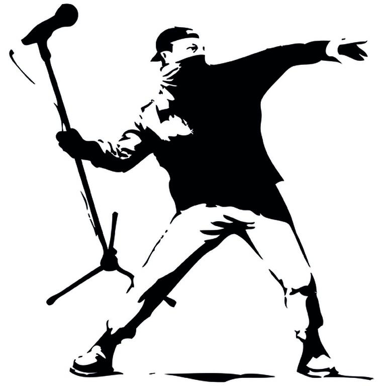 Subverted Banksy | Courtesy of Molland & Sullivan