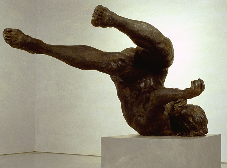 """Tumbling Woman"" by Eric Fischl 