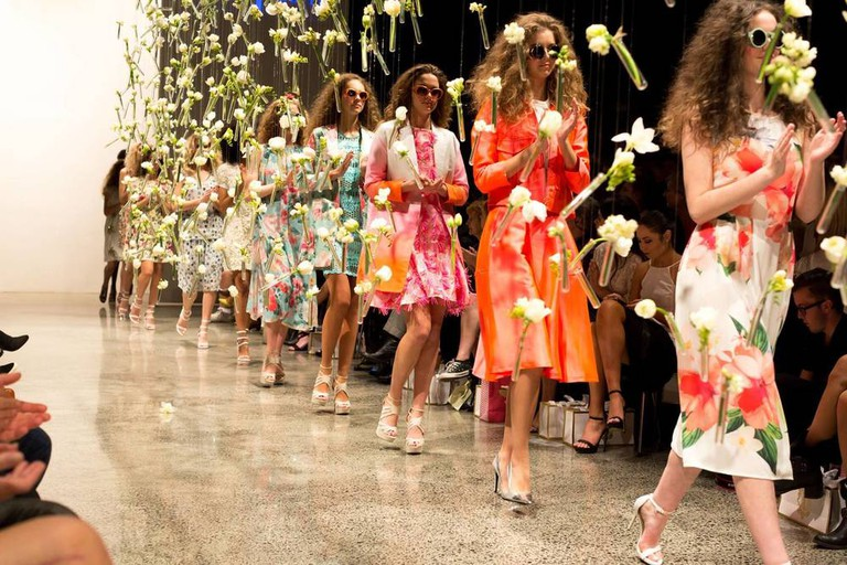 Catwalk at NZ Fashion Week