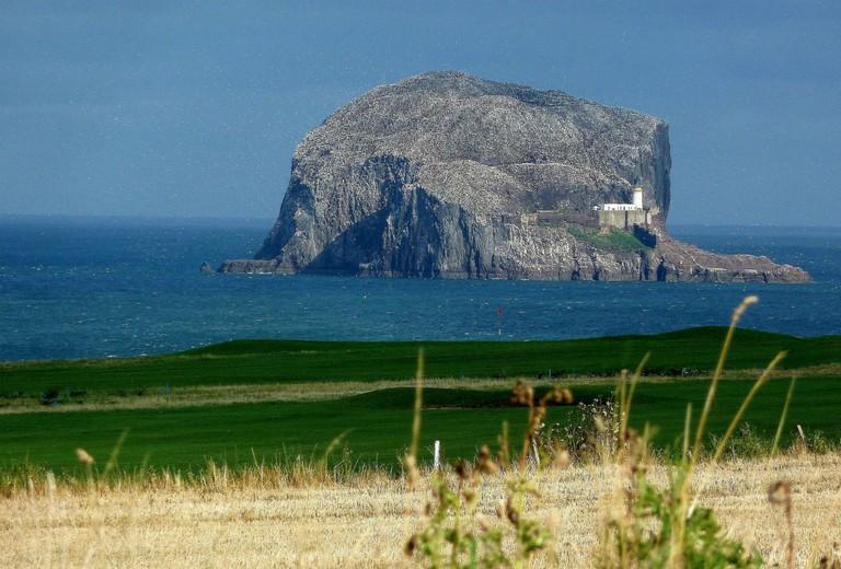 Bass Rock From North Berwick Golf Club   © Tom Pattison/Geograph