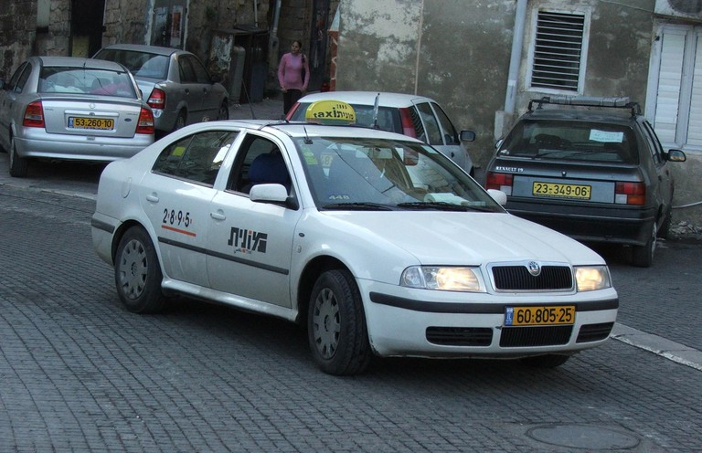 Gett Taxi @Krokodyl/WikiCommons: