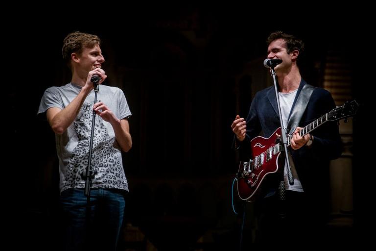 Harry and Chris | Courtesy of David Salisbury