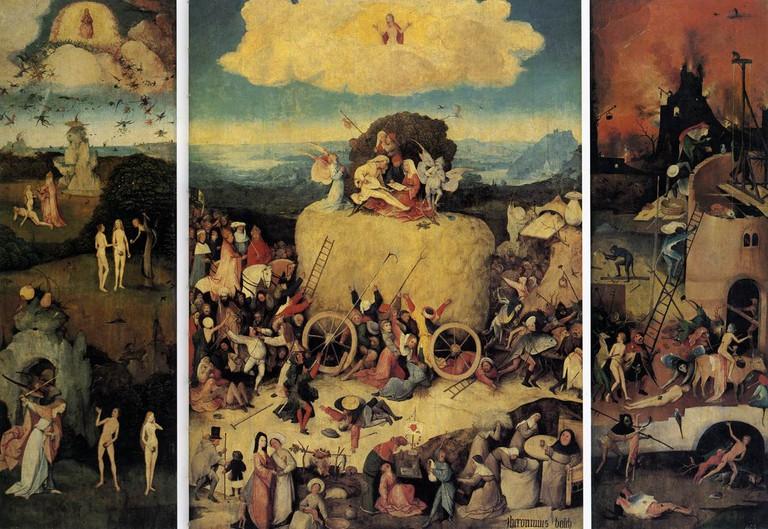 'The Haywain.' c.1510-1515. Museo Nacional del Prado, Madrid.