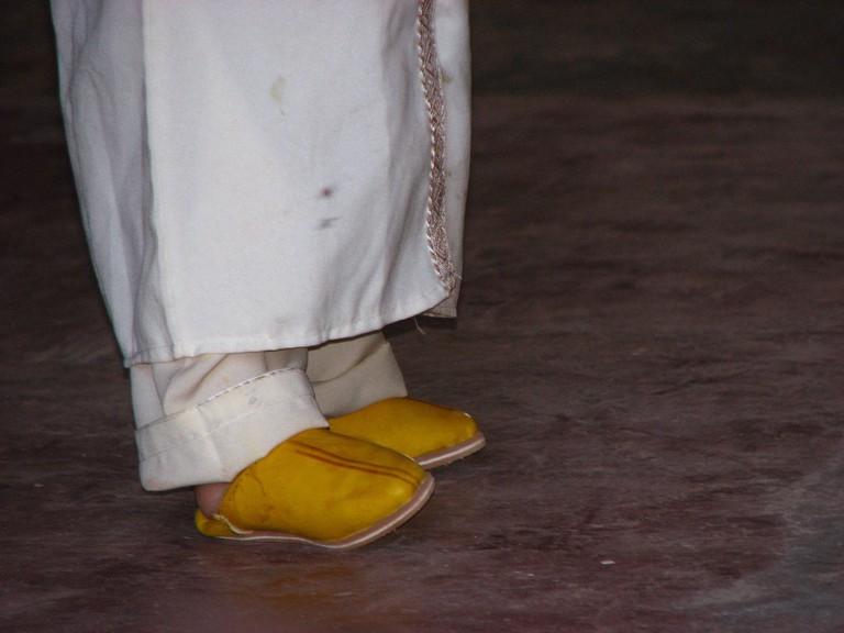 Traditional attire in Morocco | Copyright Mandy Sinclair
