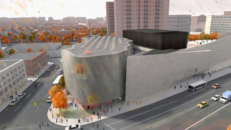 Proposed Inuit Art Centre, artist's rendering   Rendering by Michael Maltzan Architecture