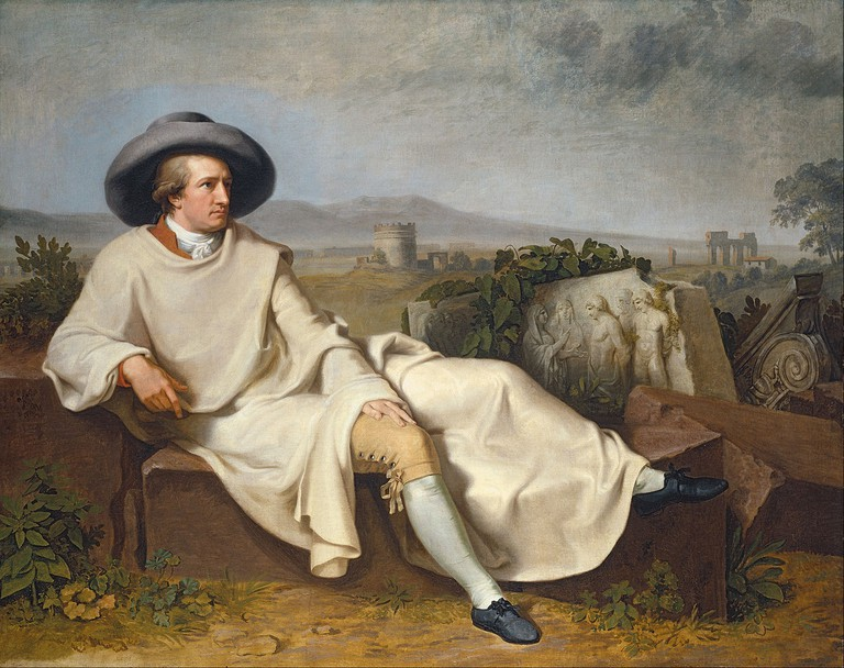 Goethe in the Roman Campagna | © aAH2PRcepgpGwA at Google Cultural Institute | Wikicommons