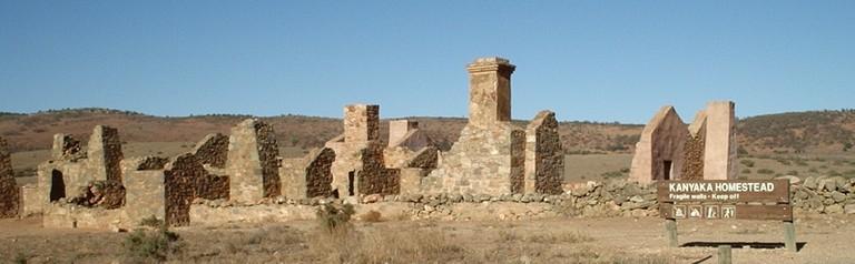 Kanyaka homestead © Peripitus/WikimediaCommons