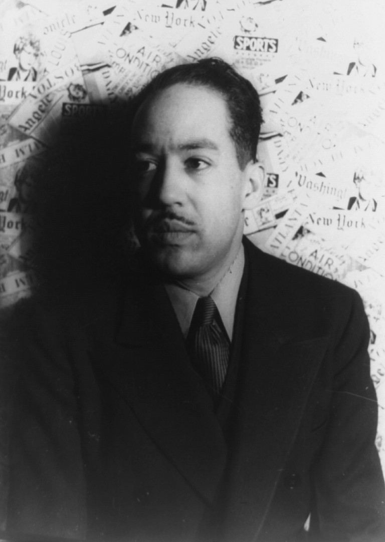 A Portrait of Langston Hughes | © Wikipedia Commons